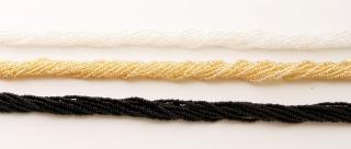 Ожерелье микробисер 12 рядов 50 см различные цвета