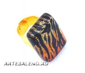 NV11 Кольцо 2x3 см линия Animals дизайн Тигр