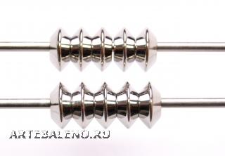 TR56 Сет 10 шт. Аксессуар (промежуточный элемент) в форме двустороннего усеченного конуса сталь Inox