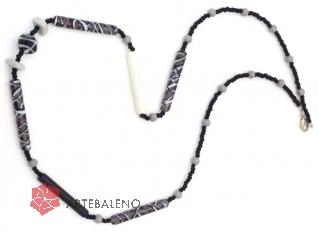 2013-32/maz Супердлинное колье 120 см Мексика муранское стекло