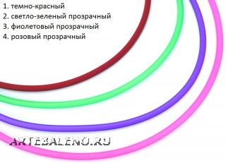 TR96(2) Каучук для браслетов из бусин Пандора 23см с невидимым замком различные цвета