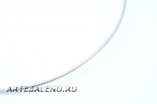 Цепочка Омега металлическая родированная цвет серебро