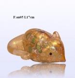 F.an05 Мышка (дл. 7см) муранское стекло