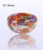 F27 Блюдо миньон круглое диам.10cm муранское стекло