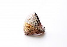 NV43 Кольцо Бамби Шамаре муранское стекло