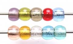 TR50 Сет 10 бусин 15х13мм Perla Vetro цветное стекло