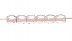 TR54 Сет 6 шт. Аксессуар (промежуточный элемент) овальный бочонок со стразами сталь Inox