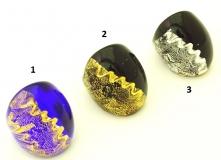 NV62 Кольцо Бурано 3 цвета муранское стекло