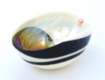 Yalos 9058 Ваза миньон 16,5х11,5х7,5см дизайн Sinfonia муранское стекло