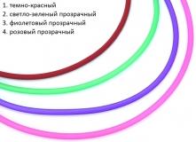 TR95(2) Каучук для колье из бусин Пандора 48см с невидимым замком 4 цвета