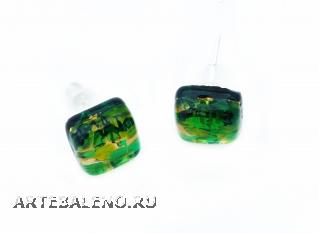 Арт. 31N Серьги-гвоздики 1х1