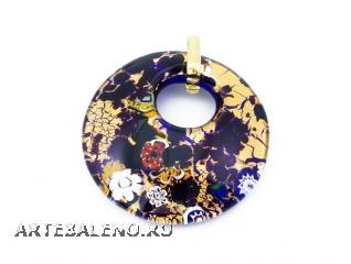 арт.229 Подвеска диам.5см из муранского стекла