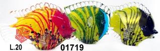 SM1719 Статуэтка Рыба в полоску L20 см 3 цвета