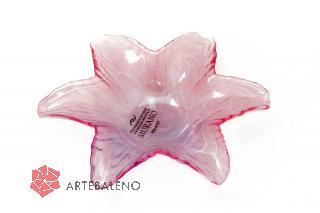 05951 Блюдо-звезда 18 см цвет розовый