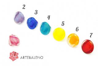 NV54 Кольцо Bright Венеция 7 цветов муранское стекло