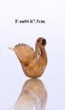 F.an06 Голубка (выс. 7,5см) муранское стекло