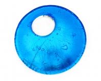 Арт. 02 бирюзовый - подвеска диам.4,5
