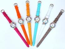 Часы с мурринами кварцевые кожаный ремешок НОВЫЕ ЦВЕТА (2)