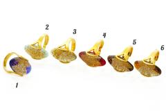 NV20 Кольцо Elite free-size дизайн Бамби 6 цветов