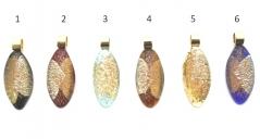 NV20 Подвеска Кабошон дизайн Бамби 6 цветов муранское стекло