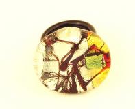 PM113 Кольцо Кандинский с дикроико муранское стекло