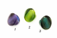 NV50 Кольцо Венеция Moderato 3 цвета муранское стекло