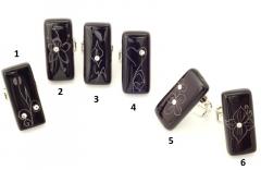 VB32 Кольцо Флора 6 вариантов муранское стекло